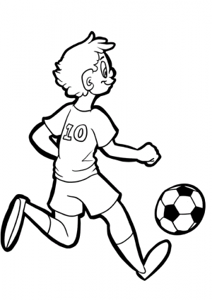 Boy Soccer Player 1 Kidspressmagazine Com Soccer Boys Soccer Art Soccer Players