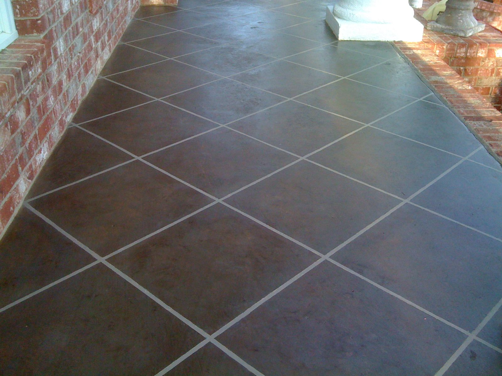 Paint Tile Floor To Look Like Slate