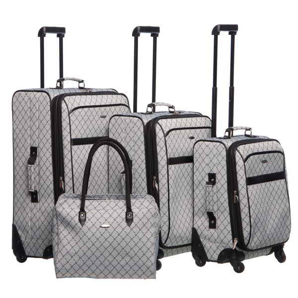 Pierre Cardin Signature 4 Piece Spinner Luggage Set by Pierre ...