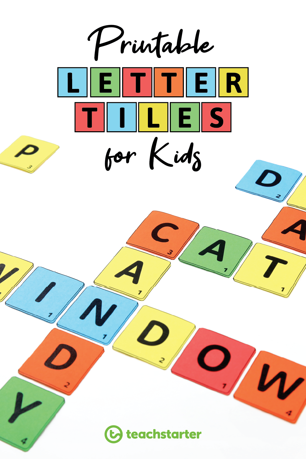 5 Fun Ways To Use Letter Tiles In The Classroom With Free