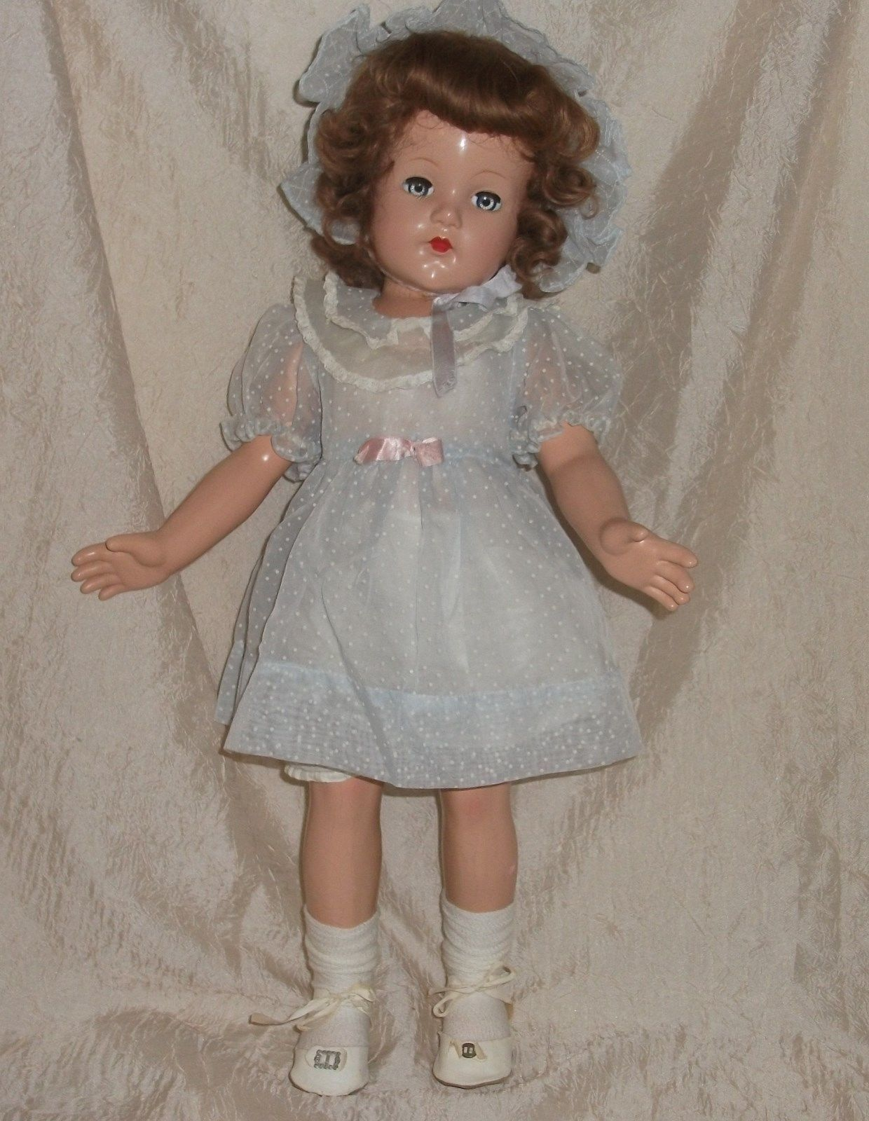 """Anne Shirley Effanbee 21"""" Composition Doll Marked 