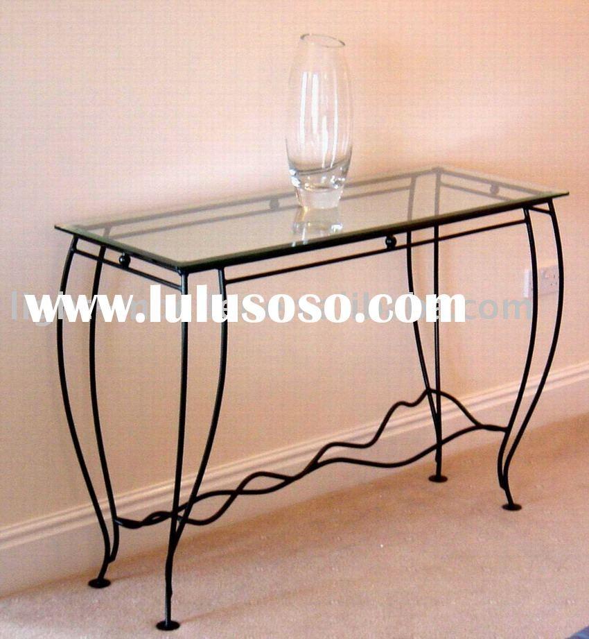 console tables iron glass Google Search Veggbor Pinterest