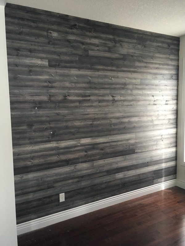 His Her Home New Wood Feature Wall With Multi Grey Finish Feature Wall Wood Feature Wall New Homes