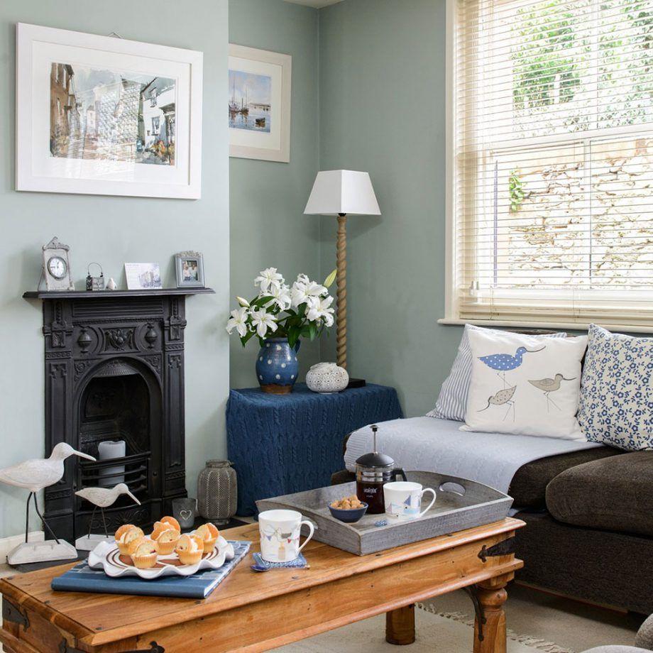 Duck Egg Living Room Ideas To Help You Create A Beautiful Scheme Brown Living Room Light Blue Living Room Dark Brown Couch Living Room