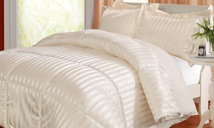 Kathy Ireland Reversible Down Alternative Comforter Set 3 Piece