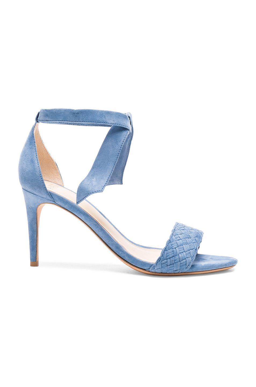 ALEXANDRE BIRMAN Suede Rosemarie Heels. #alexandrebirman #shoes #
