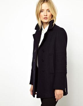 Female navy pea coat – Your jacket photo blog