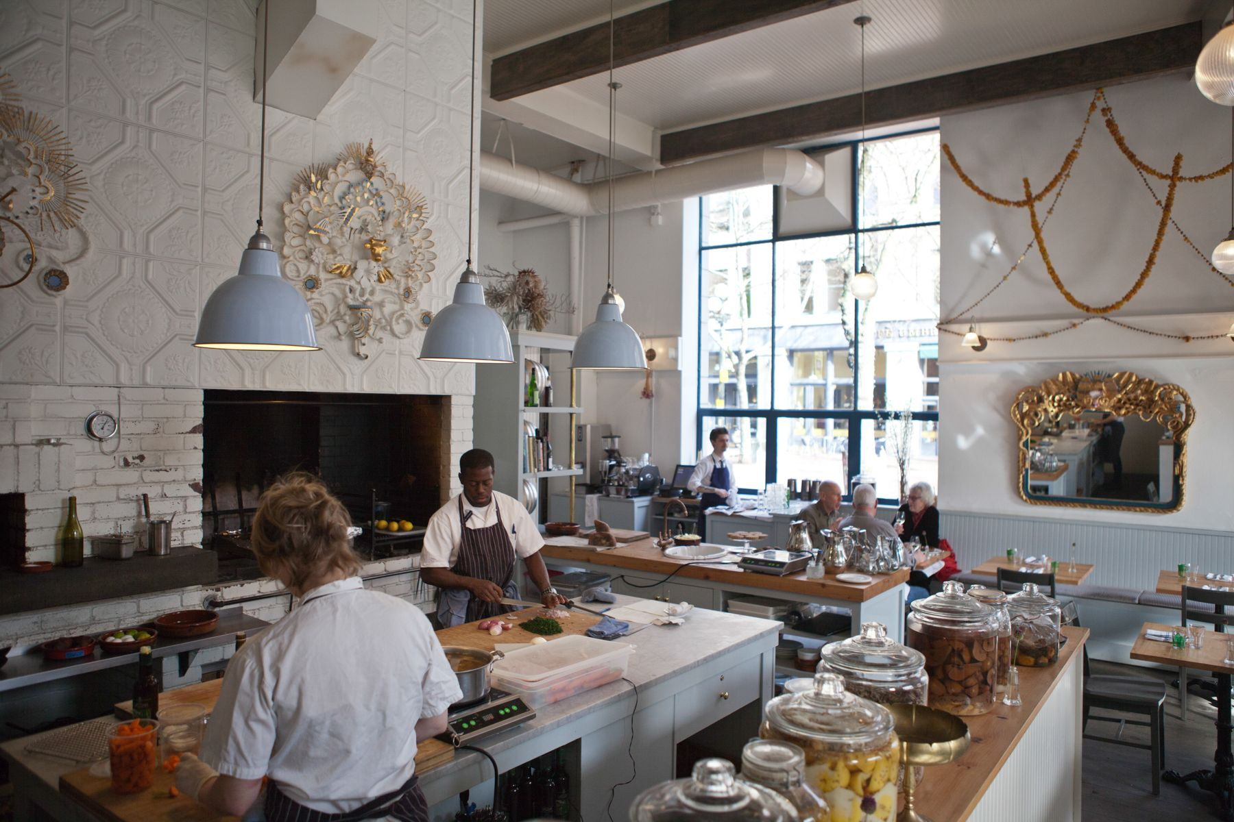 Restaurant kitchen design  SEATTLE BAR SAJOR Words by Sarah Rowland Photographs by Michael A