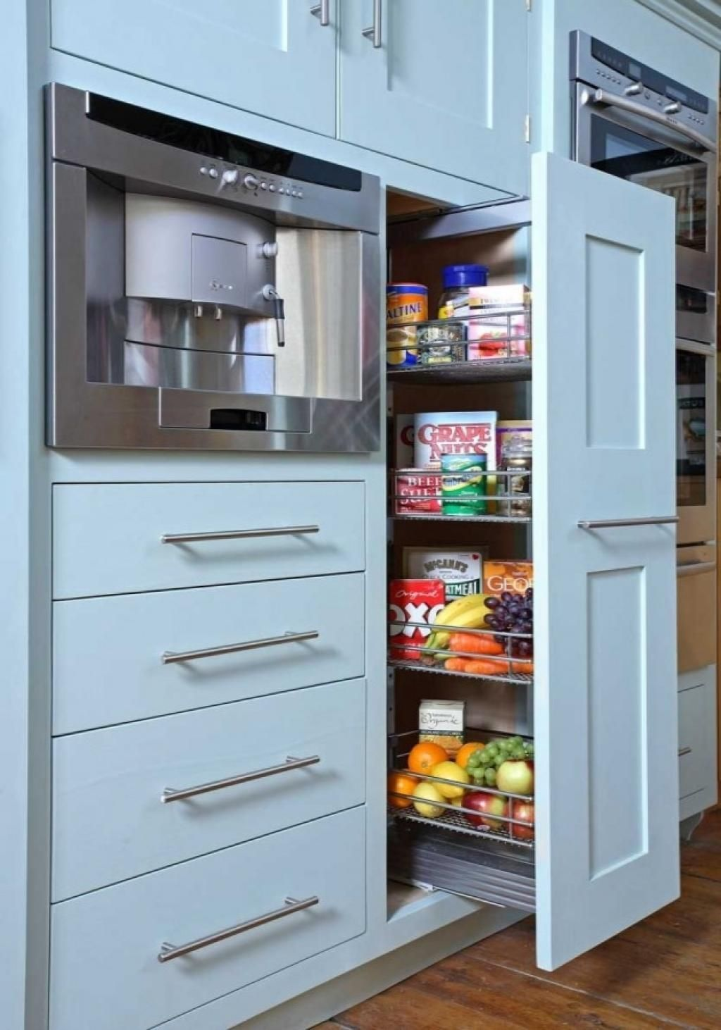 Kitchen:Modular Kitchen Cabinet Interior Design With Custom Storage ...