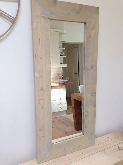 spiegel steigerhout google zoeken huis pinterest