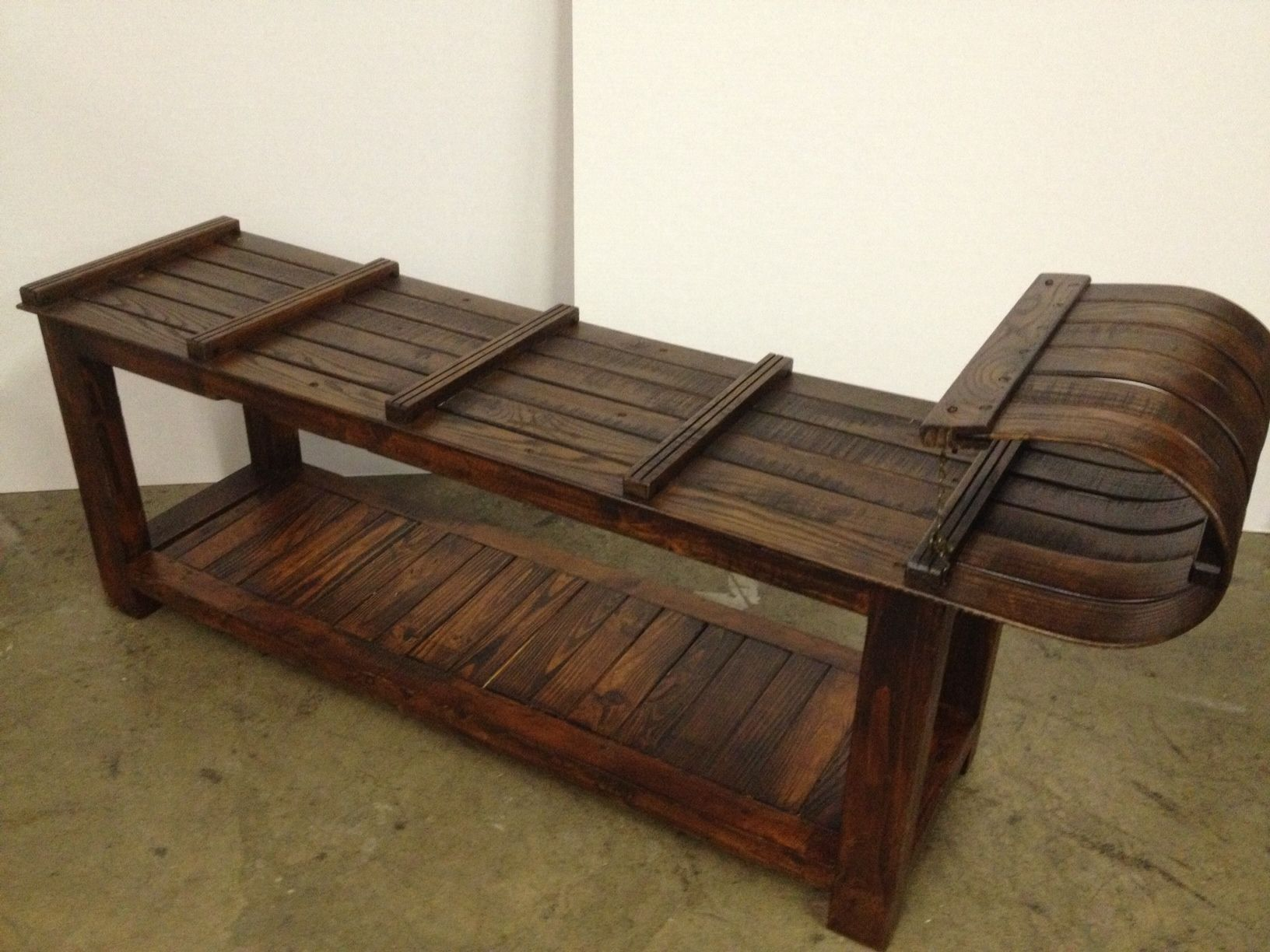 Toboggan Bench or Coffee Table