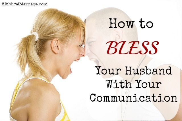 "Is your communication with your husband gentle and soft?   Proverbs 15:1 ""A soft answer turns away wrath, but a harsh word stirs up anger.""  Read more about how to bless your husband with your communication http://youngwifesguide.com/the-quarrelsome-wife/"