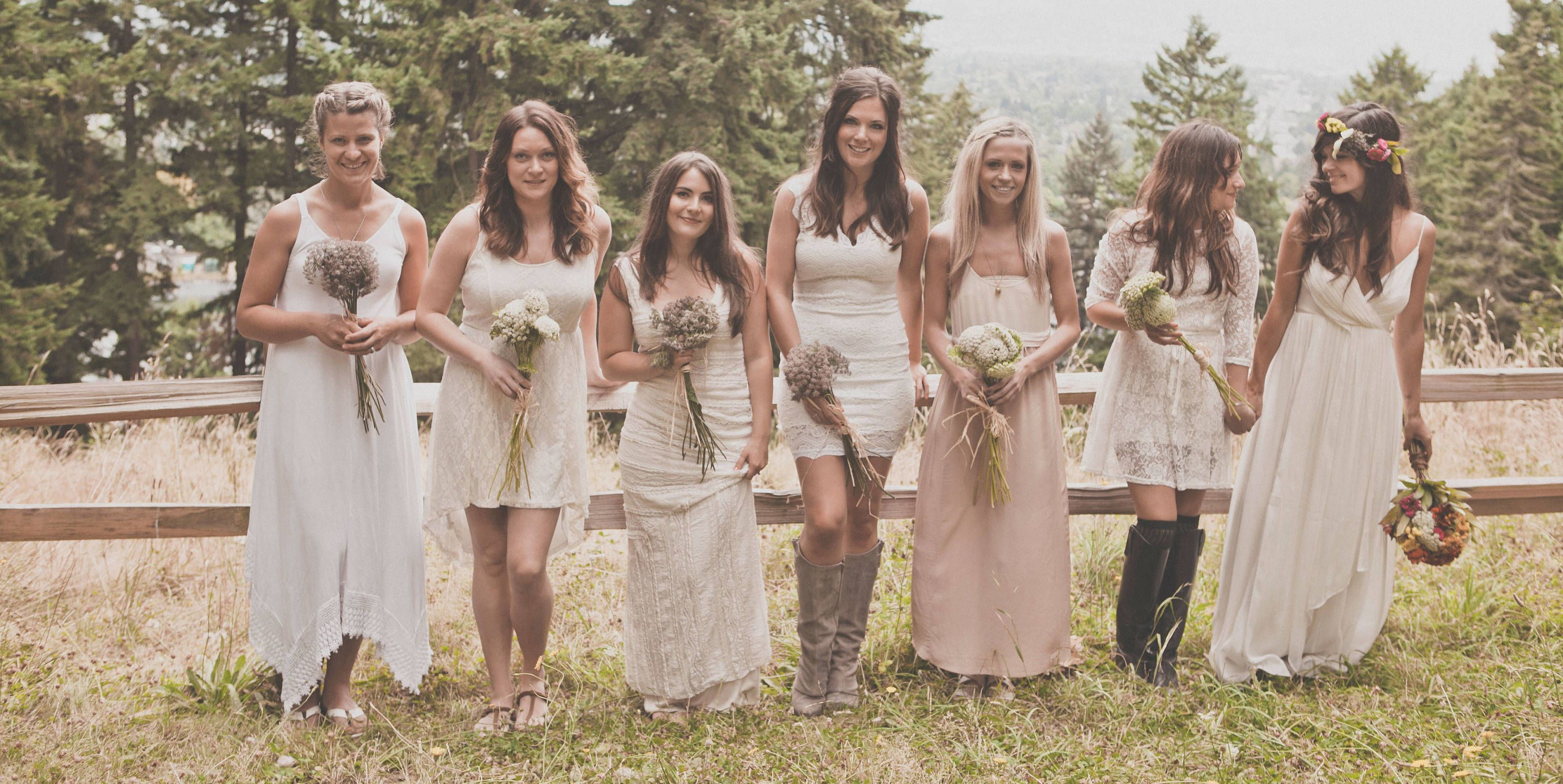 18 adorable photos that prove the best bridesmaids dresses are 18 adorable photos that prove the best bridesmaids dresses are mismatched ombrellifo Image collections