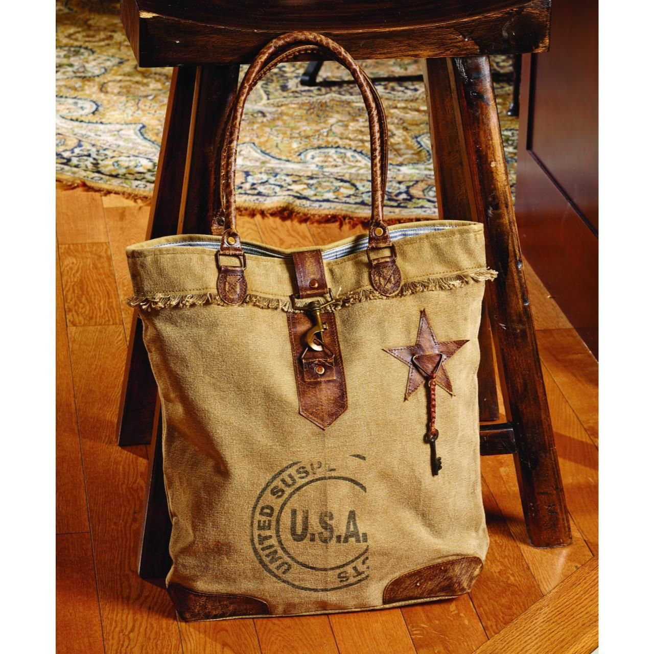 Pin by Country Village Shoppe on Upcycled Canvas Totes ...