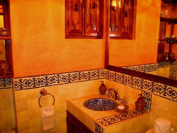 Otro ba o talavera banos decoracion ba os ba os y for Azulejos para banos estilo rustico