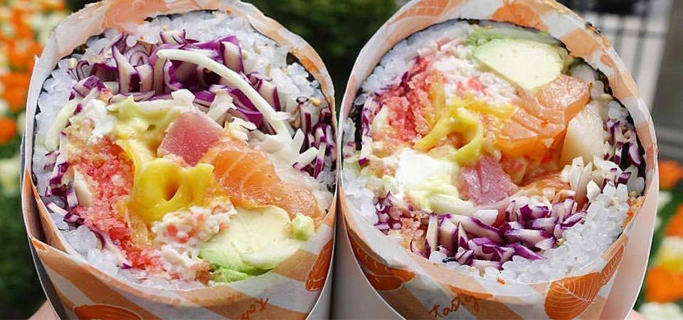 What is a sushi burrito? Why Americans love it, and how its idea came to be? Is it the newest hype, or does it have what it takes to stay for a longer time? READ MORE: https://www.sushi.com/articles/real-deal-behind-the-worldwide-sushi-burrito-craze