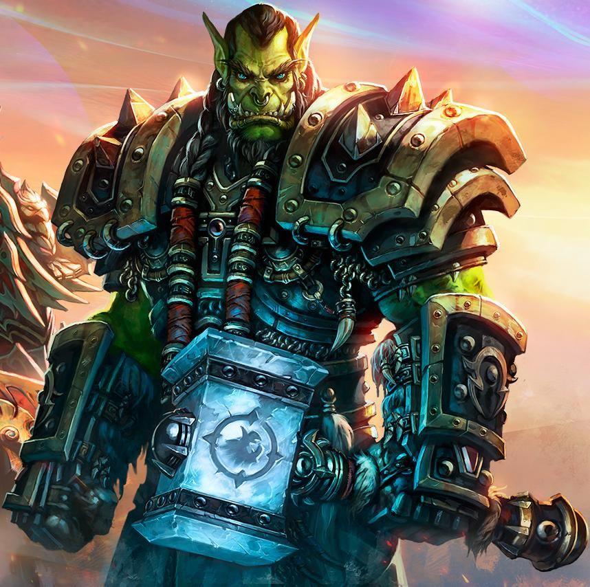Wallpaper Starcraft Warcraft Zeratul Thrall Tyrael Heroes Of 1181 838 Thrall Wallpapers 42 Wallpapers Heroes Of The Storm Art Contest Storm Wallpaper