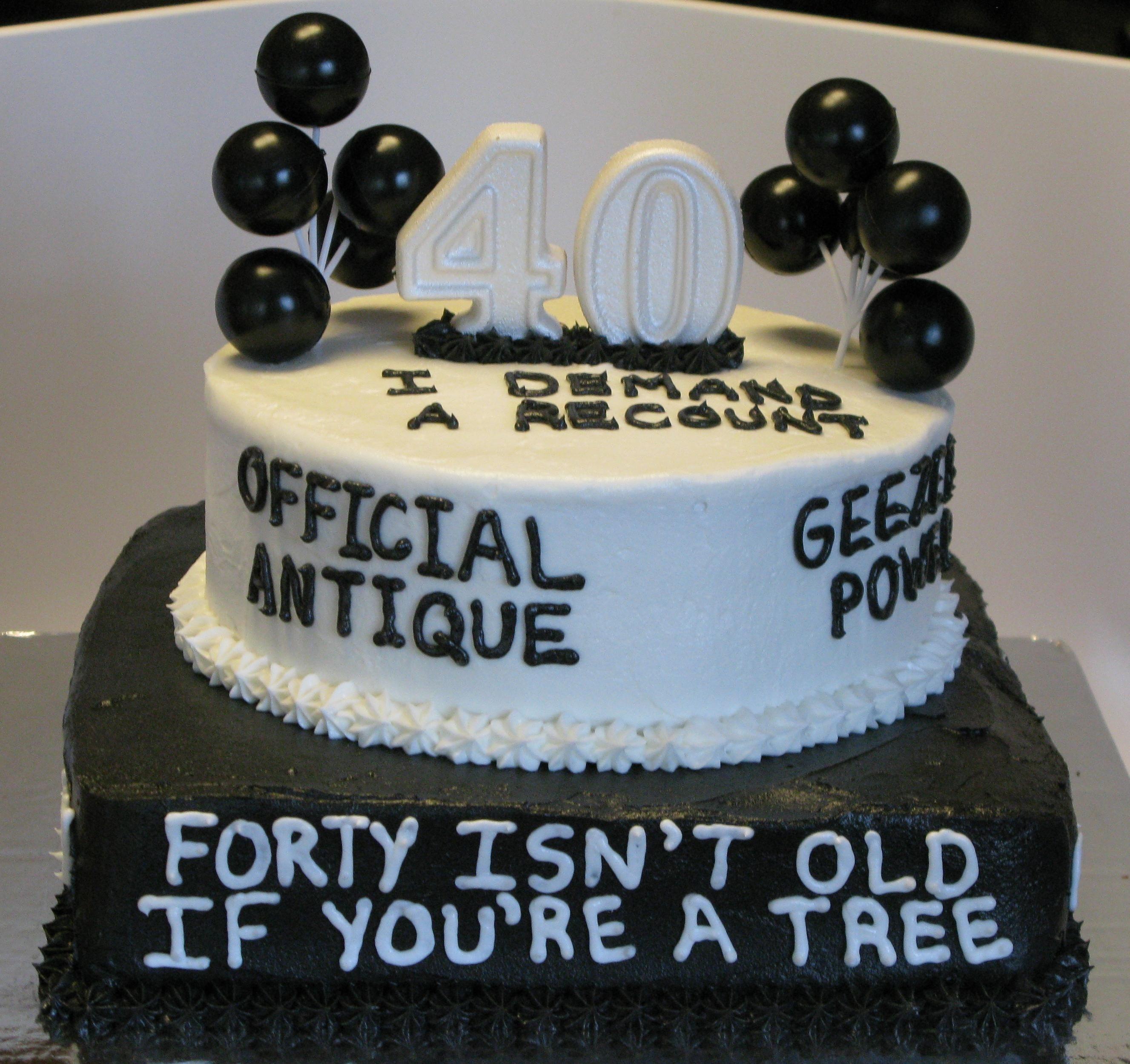 Funny 40Th Birthday Cakes For Her   Birthday Cake   Birthday cake