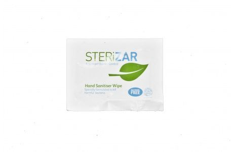 Sterizar Individual Hand Wipes Are An Alcohol Free Sanitiser And