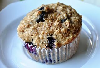 Oatmeal Blueberry Applesauce Muffins (151 Calories & LOW FAT) | Honey, What's Cooking?