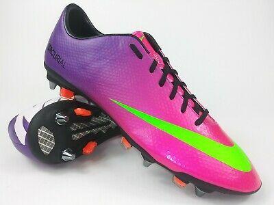 Details About Nike Mens Rare Mercurial Vapor Ix Sg Pro 555607 635 Purple Pink Cleats Size 11 In 2020 Nike Men Cleats Nike