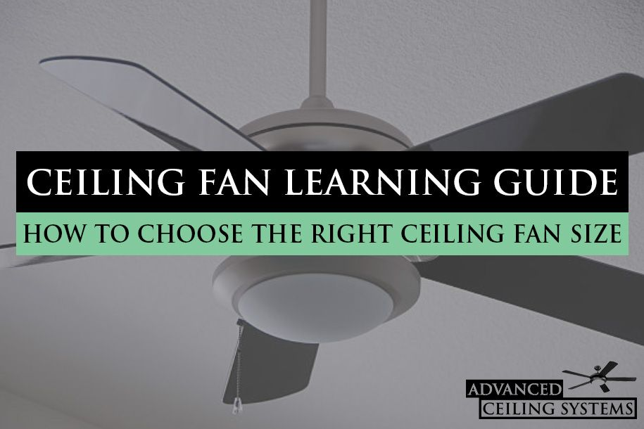 How to Choose the Right Ceiling Fan Size (With images
