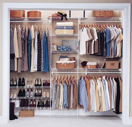 Image Detail For Closetmaid Wire Shelving Wardrobe Solutions Declutter Organise