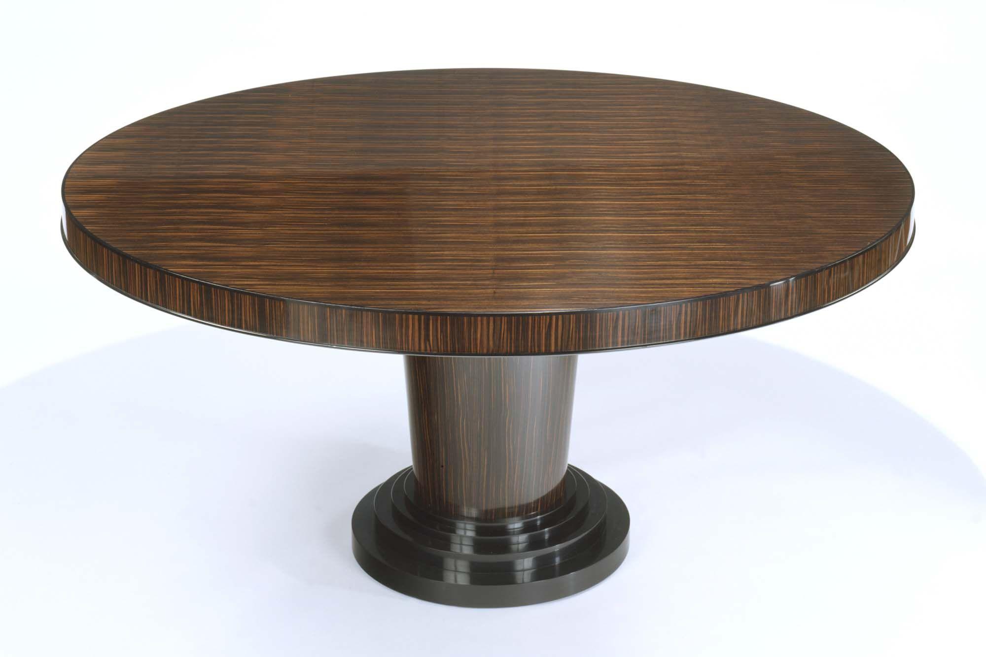 DAVIDSON London - The Fezer Table in Massacar Ebony