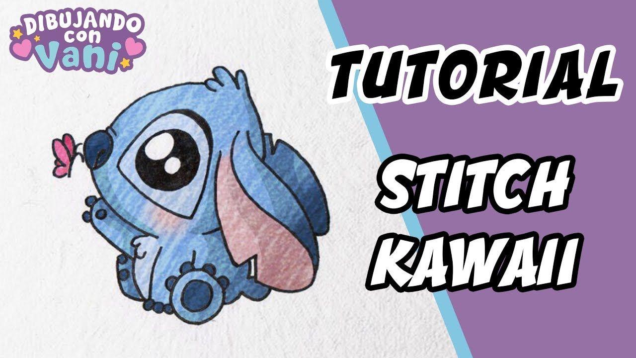 Como Dibujar A Stitch Kawaii Dibujos Faciles Paso A Paso Draw
