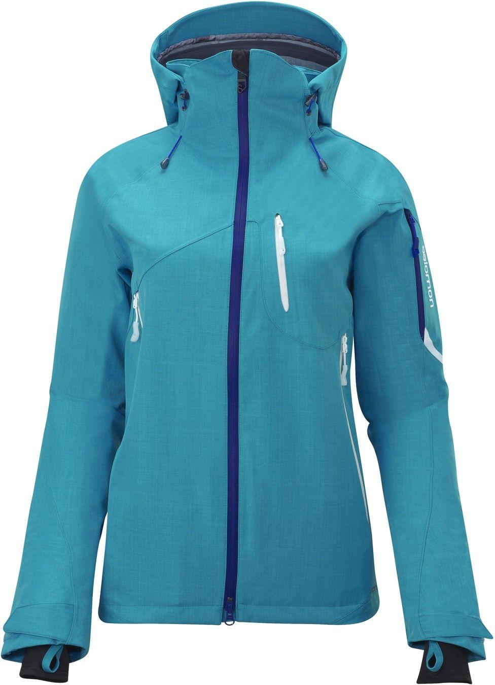 SIDEWAYS 3L JACKET W - Freeski Jackets - Clothing - Alpine Skiing - Salomon Usa