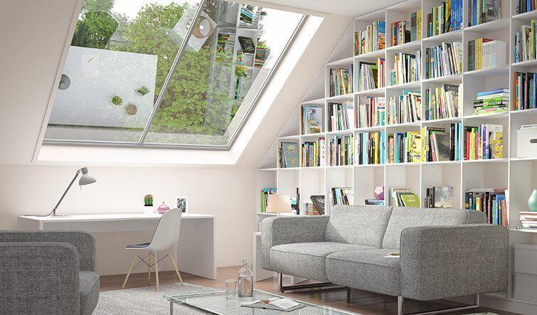 17 Entwerfen Und Kreieren Sie Ihre Eigene Garderobenerfahrung 13 In 2020 Wohnzimmer Modern Raume Mit Dachschragen Wohnzimmer Regal