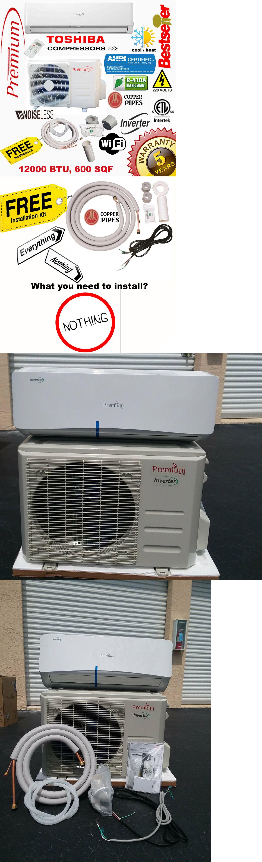 Premium 12000 BTU Mini Split Air Conditioner Inverter Heat