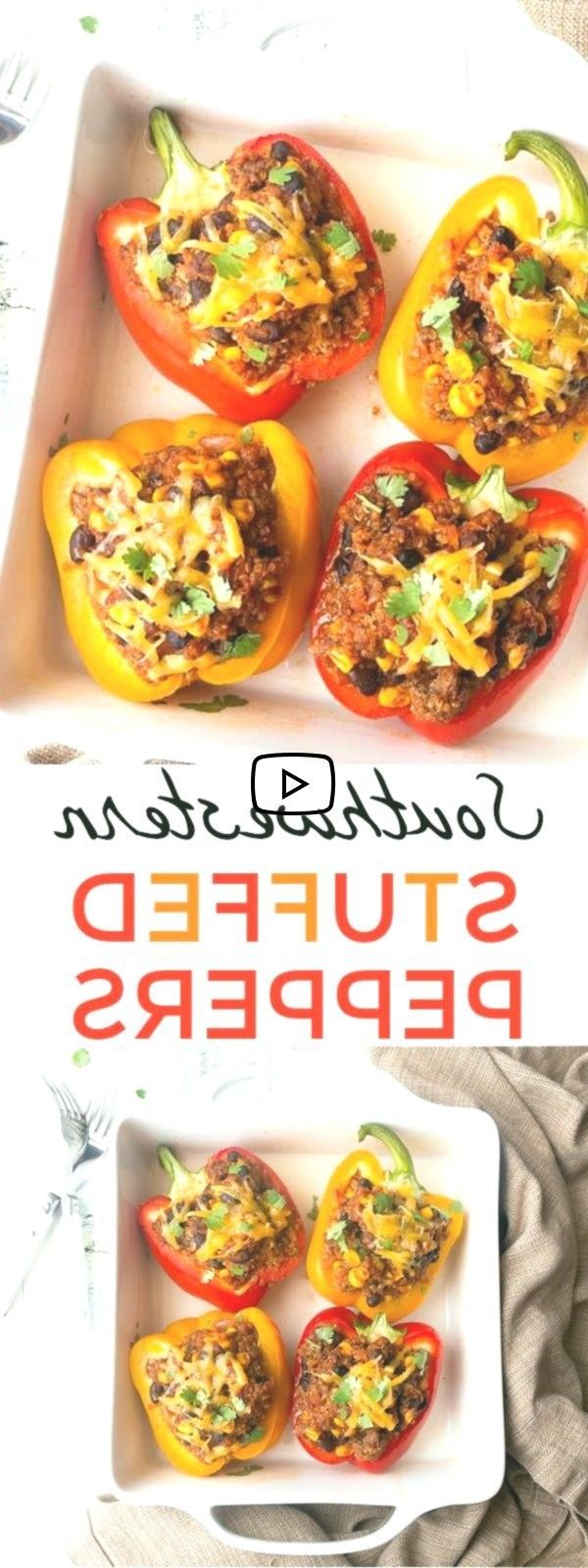 southwestern Stuffed Peppers for Two. Dinners for Two, easy dinner ideas, health..., Stuffed Peppers for Two. Dinners for Two, easy dinner ideas, healthy dinner ideas.