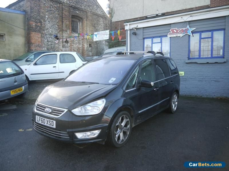 Car For Sale 2010 Ford Galaxy Titanium X Auto 2 0 Petrol Black