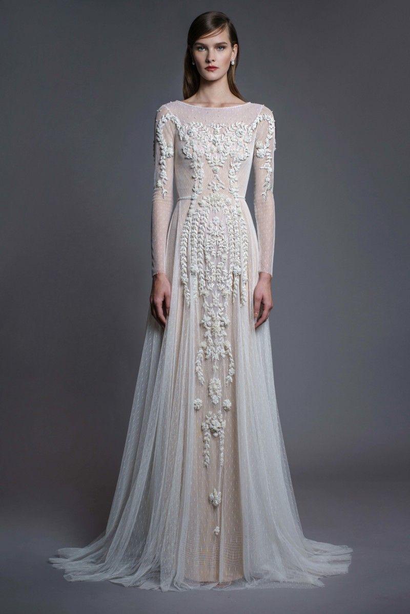 20+ Elegant & Unique Modern Wedding Dresses   Wedding dress long ...