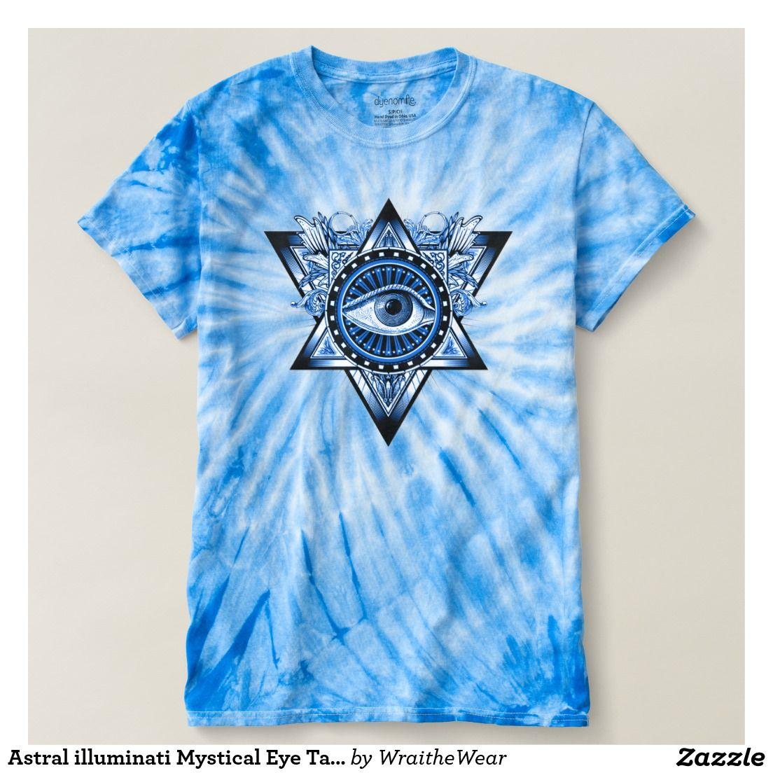 Astral illuminati Mystical Eye Talisman Symbol Tee | Wraithe Wear ...