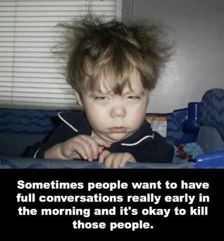 Not A Morning Person Laugh Make Me Laugh Funny Quotes