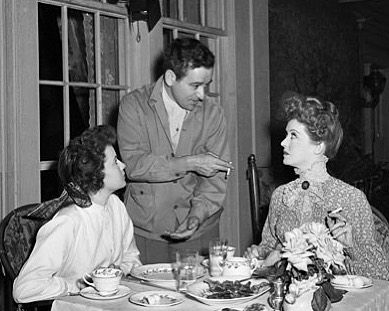 "Bette Davis on Instagram: ""Teresa Wright, director William Wyler, and Bette, photographed on the set of The Little Foxes (1941) 