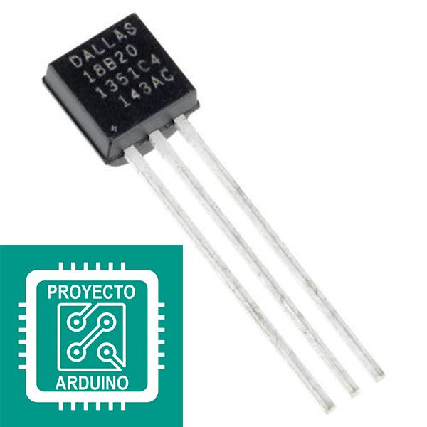 Sensor De Temperatura Ds18b20 Sensor Arduino Sensores