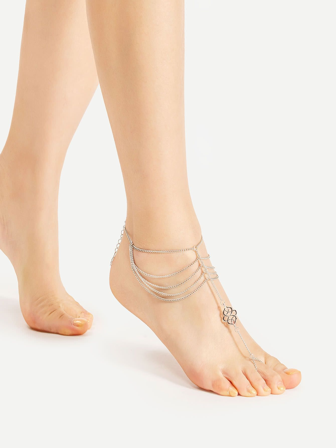 thong metal and pin golden anklet metals shopping
