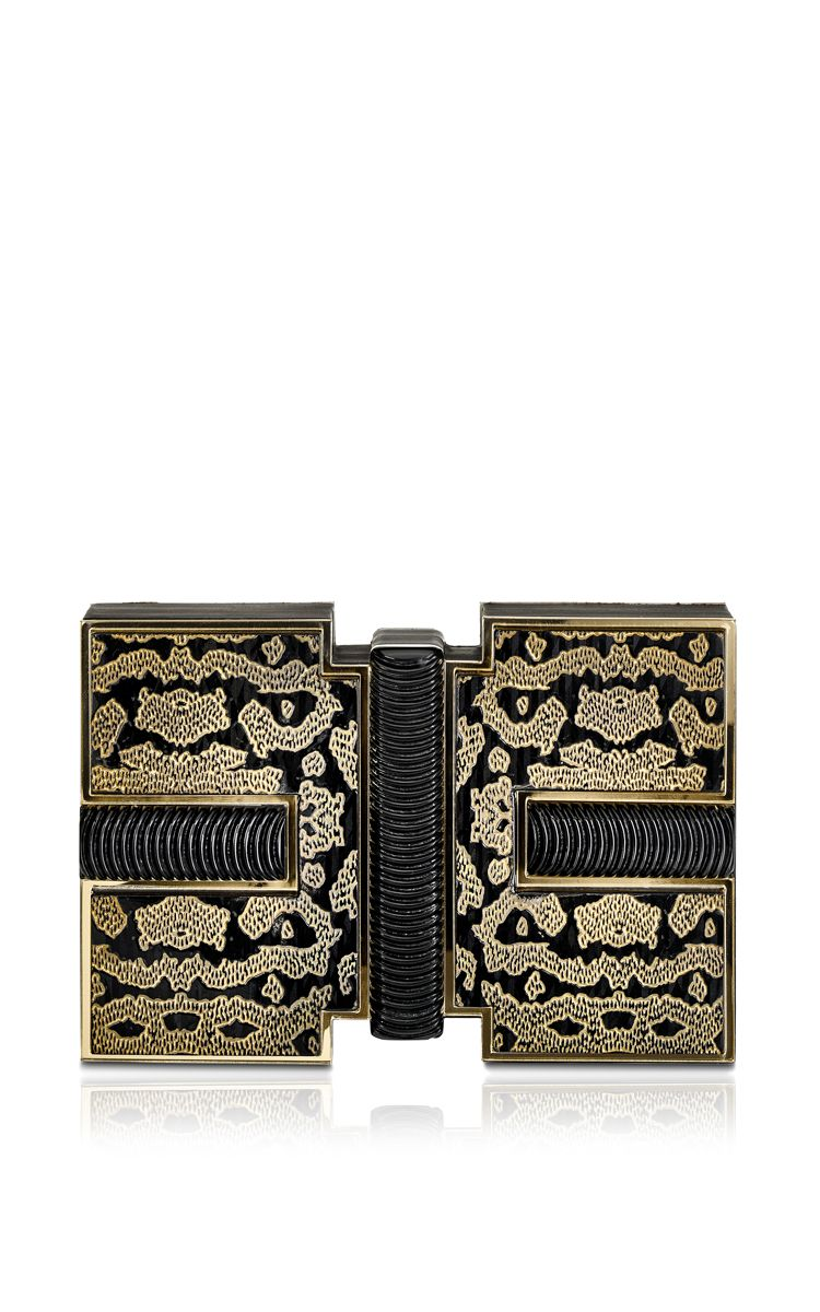 Durin Carbon Beetle Clutch by Rauwolf for Preorder on Moda Operandi