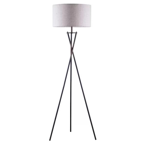 Janna 65 Tripod Floor Lamp Tripod Floor Lamps Black Floor Lamp