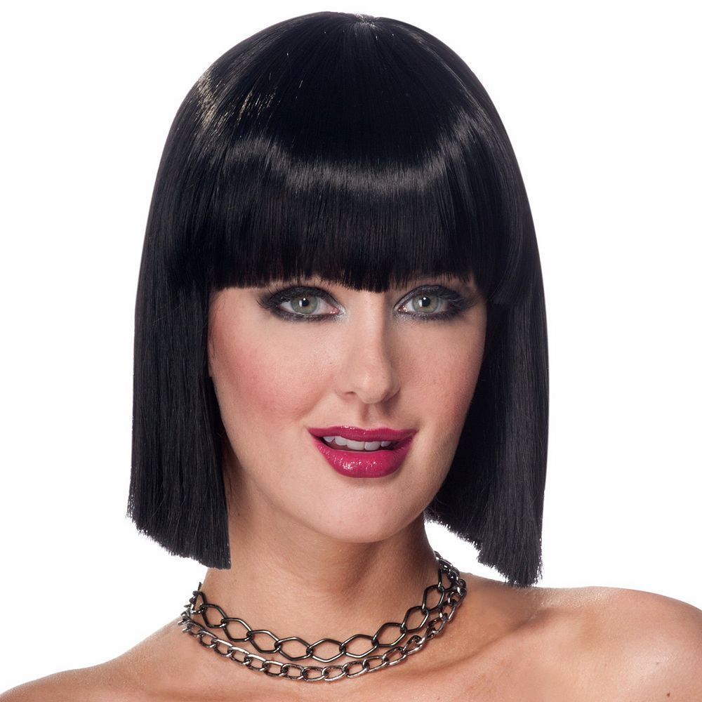 Vibe Costume Wig Adult, Women's, Black Front hair