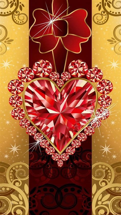 Images By Kathy🐱 Beckwith💐 On Bling Phone | Heart Wallpaper