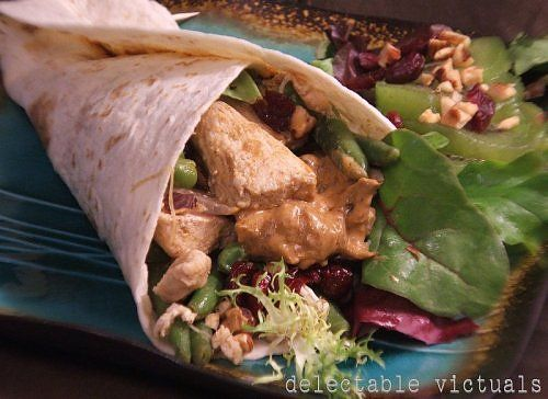 Curried Chicken Wraps
