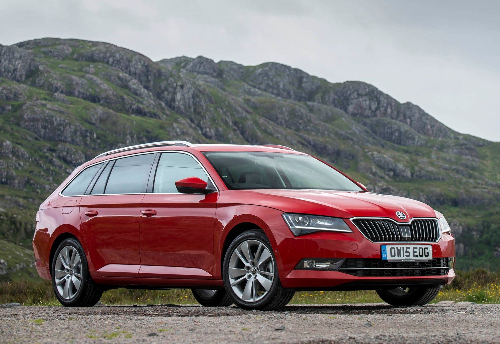 The Skoda Superb Estate Has A Huge Boot And Great Value Plus A