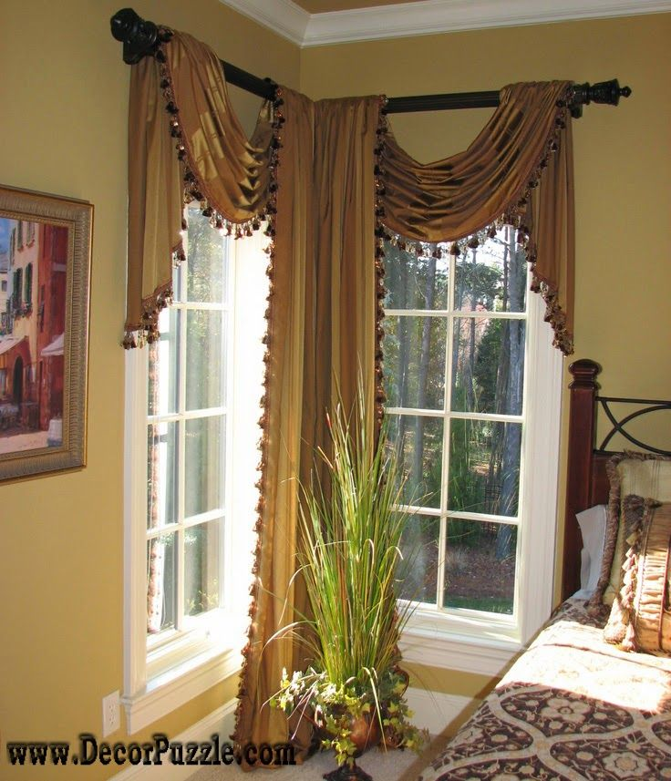 Luxury Classic Curtains And Drapes 2017 Corner Curtains Designs