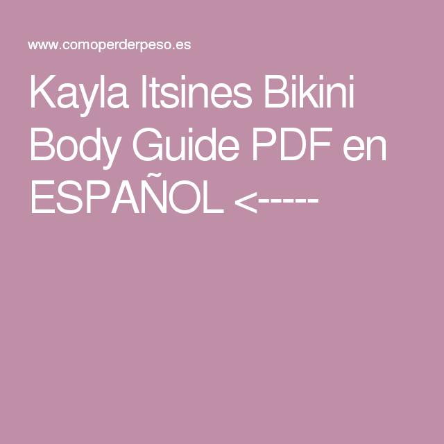 Españollt;Bbg Bikini Itsines Guide Pdf Kayla Body En dxorCBeW