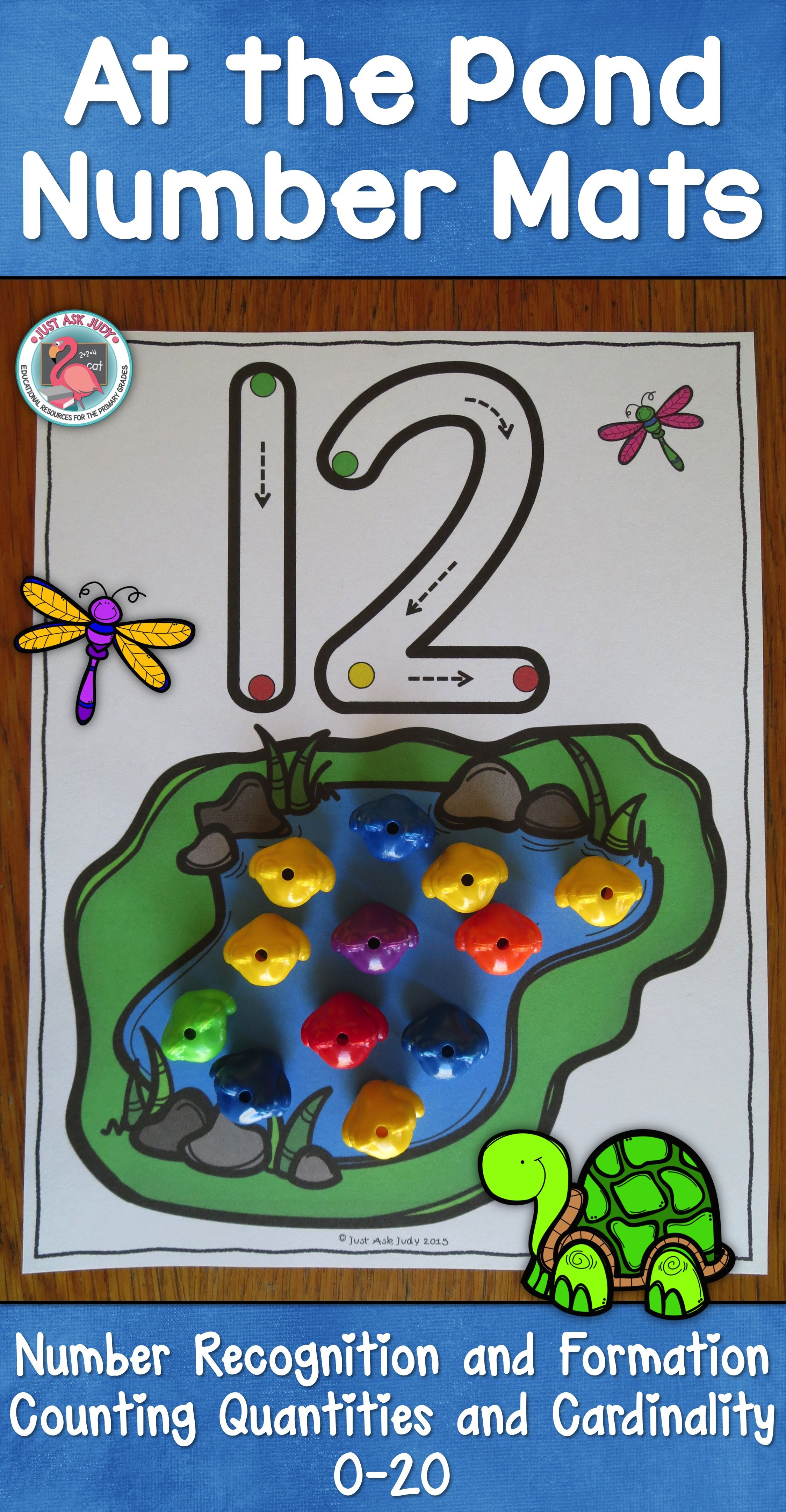 Number Mats 0 20 At The Pond
