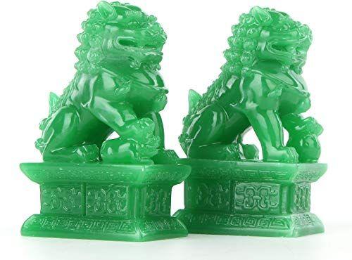 Best Seller Wealth Porsperity Pair Fu Foo Dogs Guardian